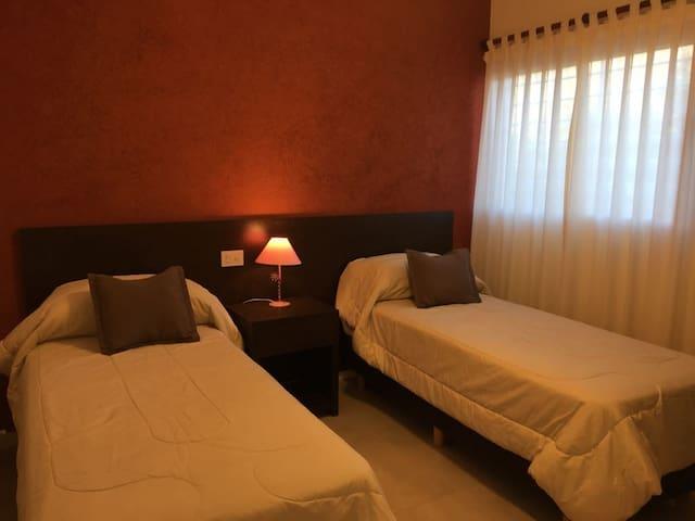 Dormitorio camas twin