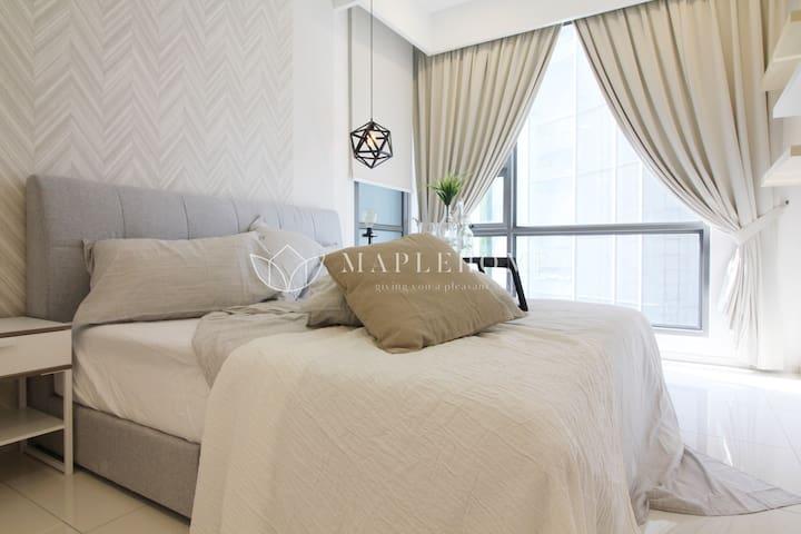 *Balcony Suite* Warm & Cozy 1BR Aprt Bukit Bintang