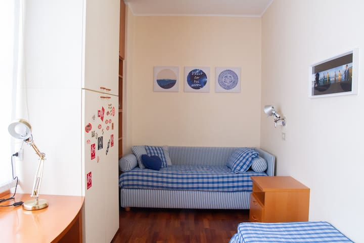 Stylish room 2 in the heart of Milan