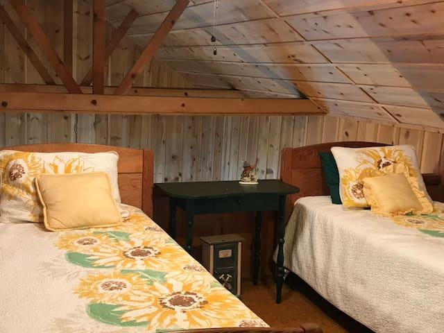 Fun and comfortable loft.