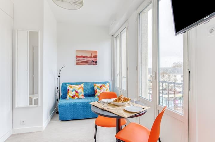 Les Amarres 105 - studio cosy St Nazaire