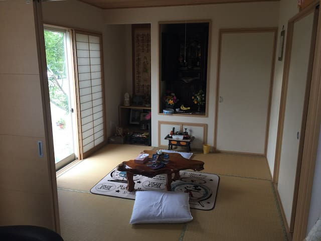 New! private room D guesthouse @near station - 宮崎市