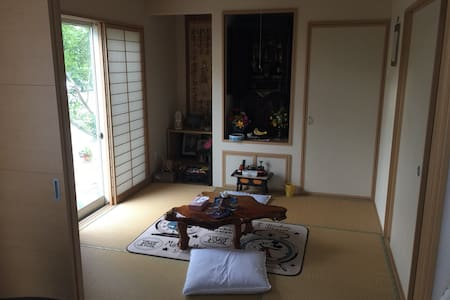 New! private room D guesthouse @near station - 宮崎市 - Ev