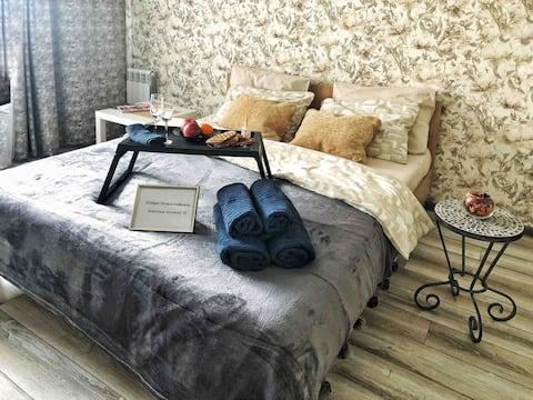 Новая светлая и уютная квартира в Соловьиной роще