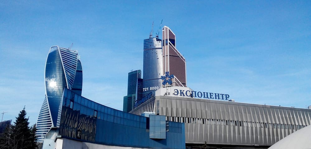 Аpartment at Expocentre,  Moskow-City