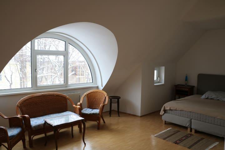 Sunny duplex (110m2) with terrassse and Garage