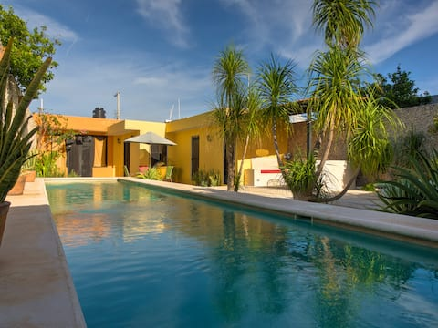 Comfort and Tranquility in Merida Centro