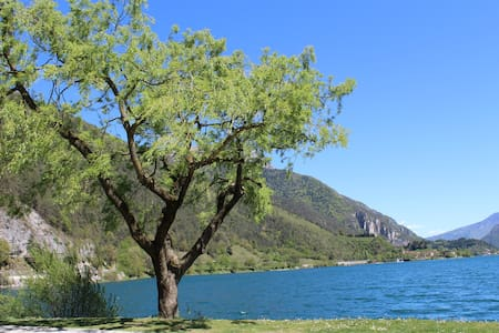 Chalet  Bucaneve al lago di Ledro - Tiarno di Sotto - Kulübe