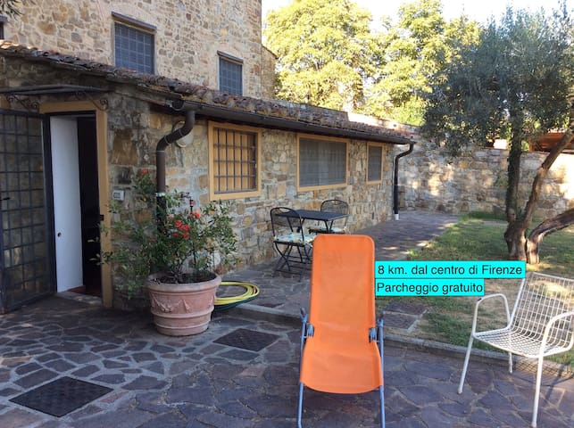 Villetta Gabriella, 8 km. dal centro di Firenze. - Impruneta - Apartamento
