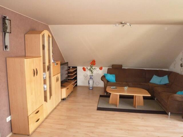 Gemütliche  Ferienwohnung 90qm - Gebsattel - Квартира