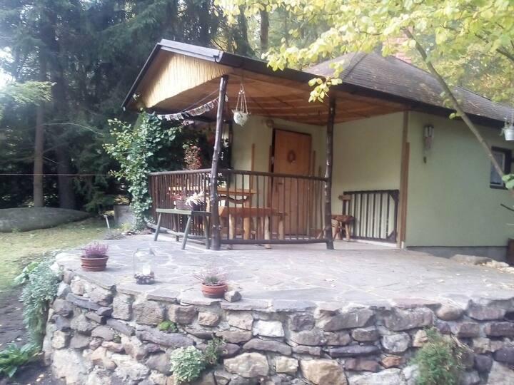 Chata v klidné osadě Džbány