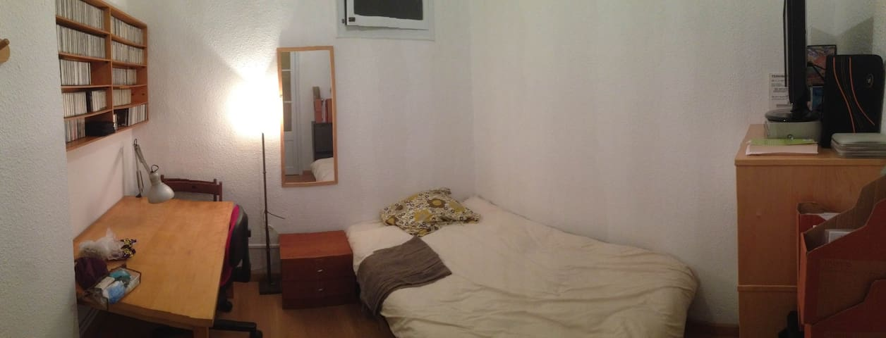 Habitación  acogedora en Parc Guell