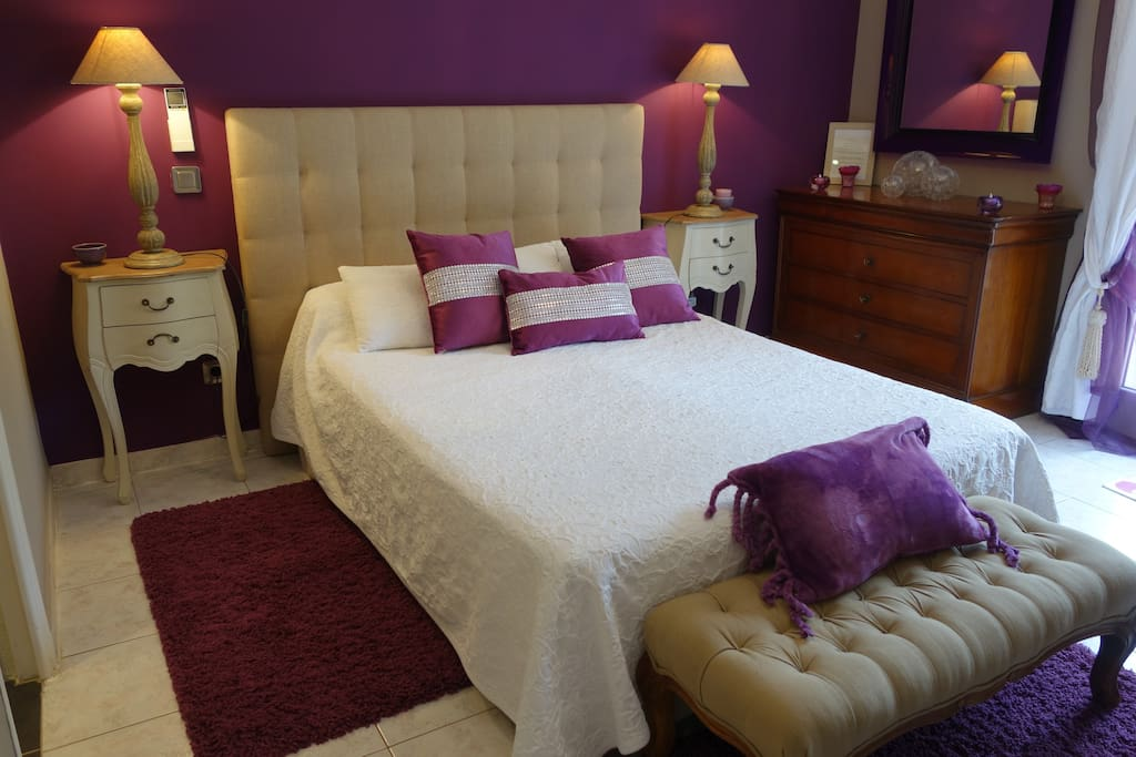 chambres d h tes de charmes luxe mauve chambres d 39 h tes louer porto vecchio corse france. Black Bedroom Furniture Sets. Home Design Ideas