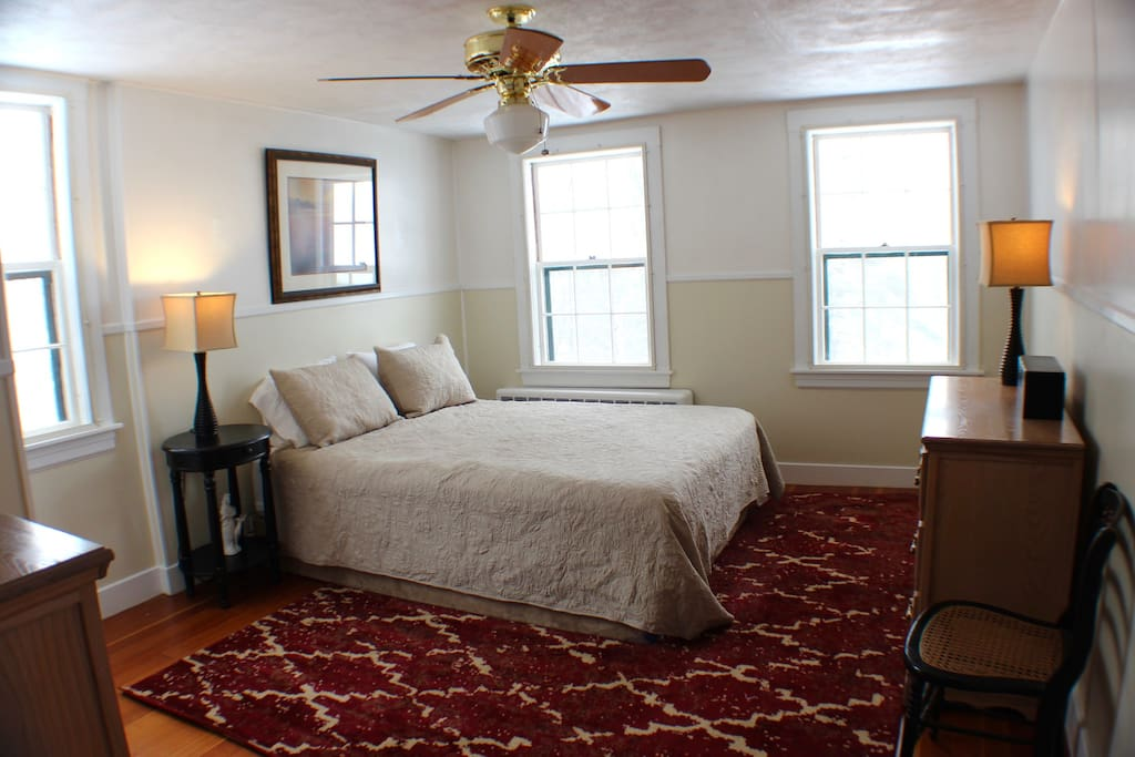 1 of 2 Queen bedrooms located above the great room in their own wing of the home