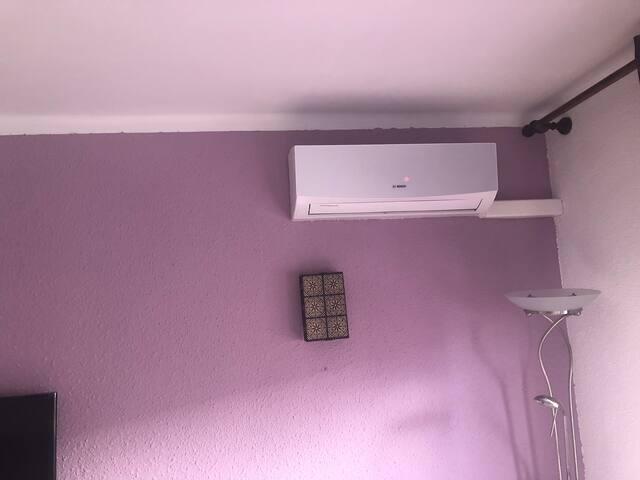 Aire y calor cuidar del mando