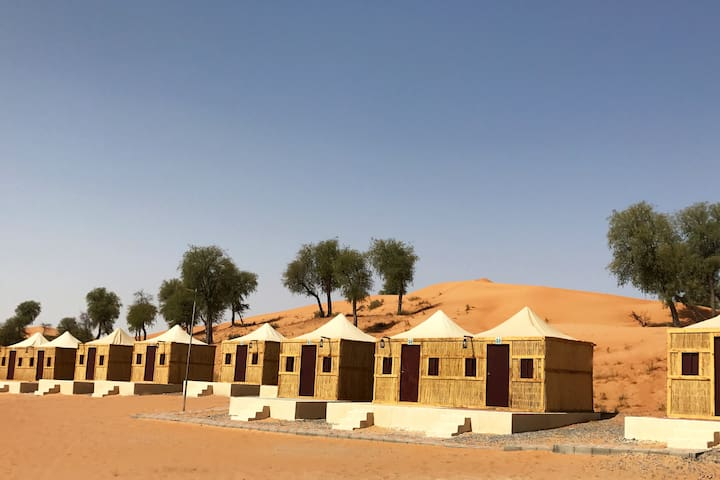 Overnight Deluxe tent stay at Bedouin Oasis Camp