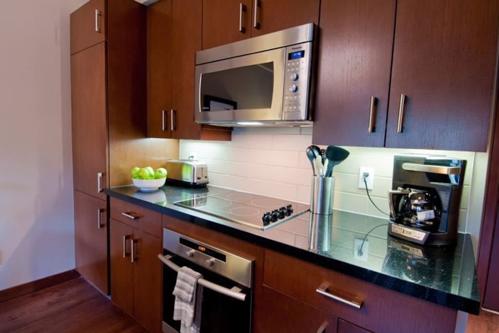 Prepare meals for your friends and family in the privacy of your own fully-equipped kitchen.