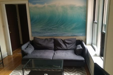 Great couch in Logan Square!