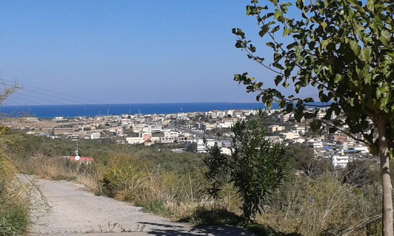 Traditional style apartment with a view and a yard - HERAKLION - Wohnung