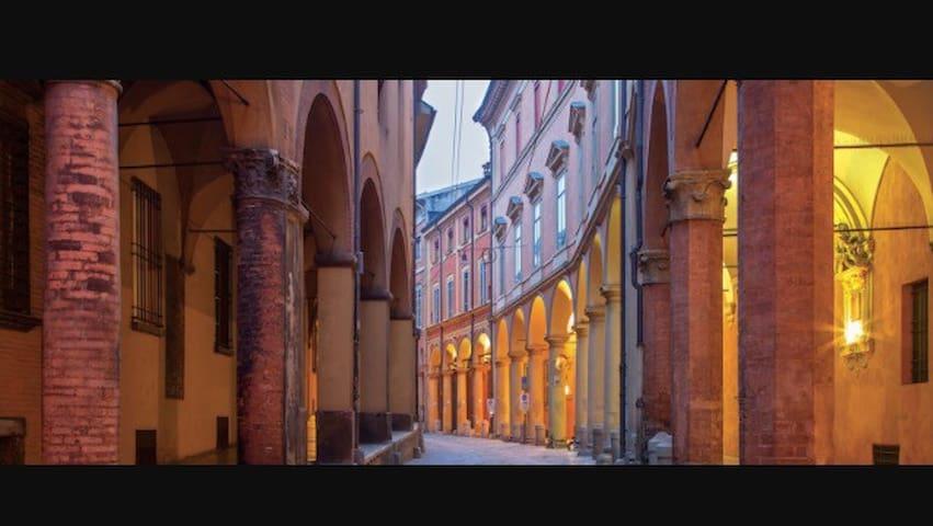 """Monolocale """"i portici """" - Bologna - Apartemen"""
