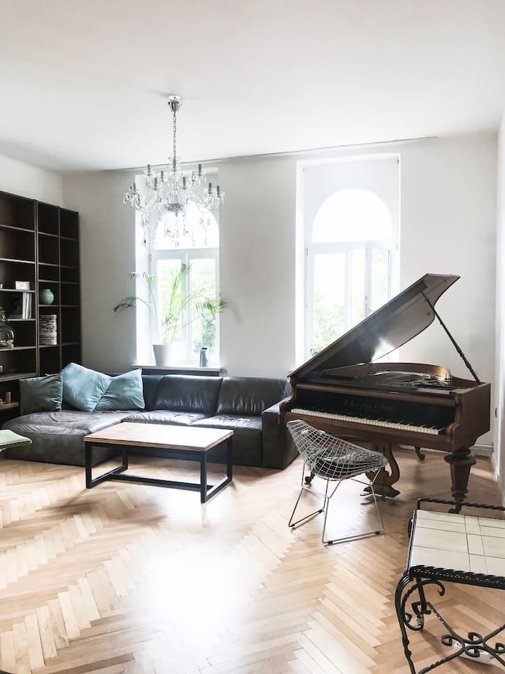 Große Altbau-Wohnung in Wels, nahe Messegelände
