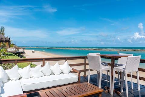 Apartamento charmoso na melhor praia de Muro Alto