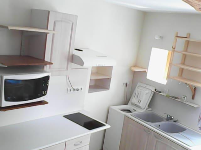 Duplex dans village tarnais (Castres/Toulouse) - Vielmur-sur-Agout - Apartamento