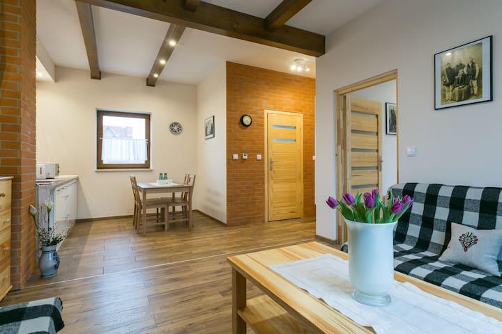 Family apartment for 5 in Zakopane