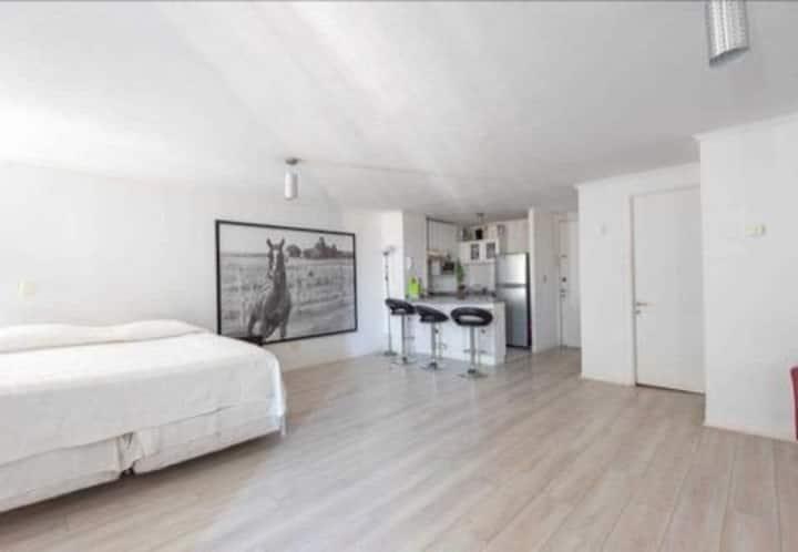 Bellísimo apartamento loft sobre Av. Las Condes