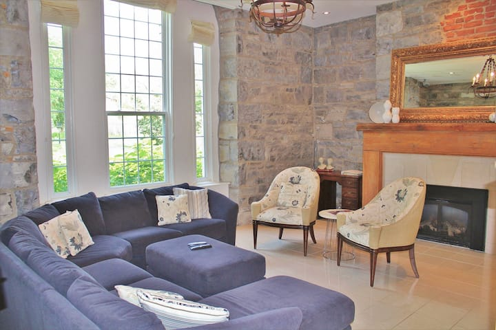 Luxury Limestone Suite is a Home Away from Home