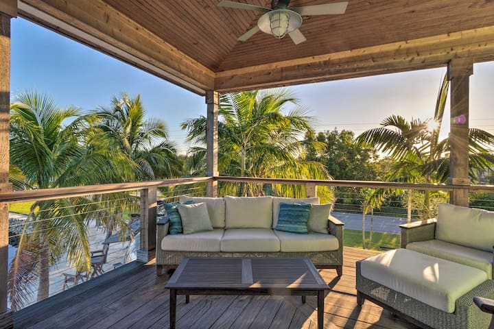 Spend a sunny afternoon on the deck.