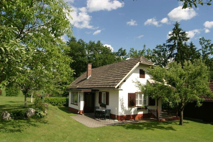 Mooie bungalow in de buurt van het bos in Kleindiex