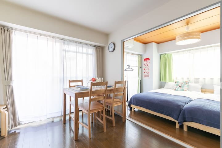 Komagome colorbee apartment/4min from sta/2bedroom