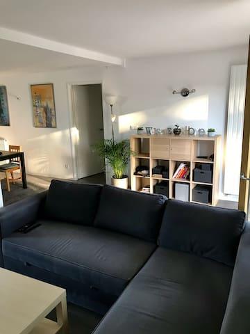 Appartement 70m2, calme et lumineux, proche forêt