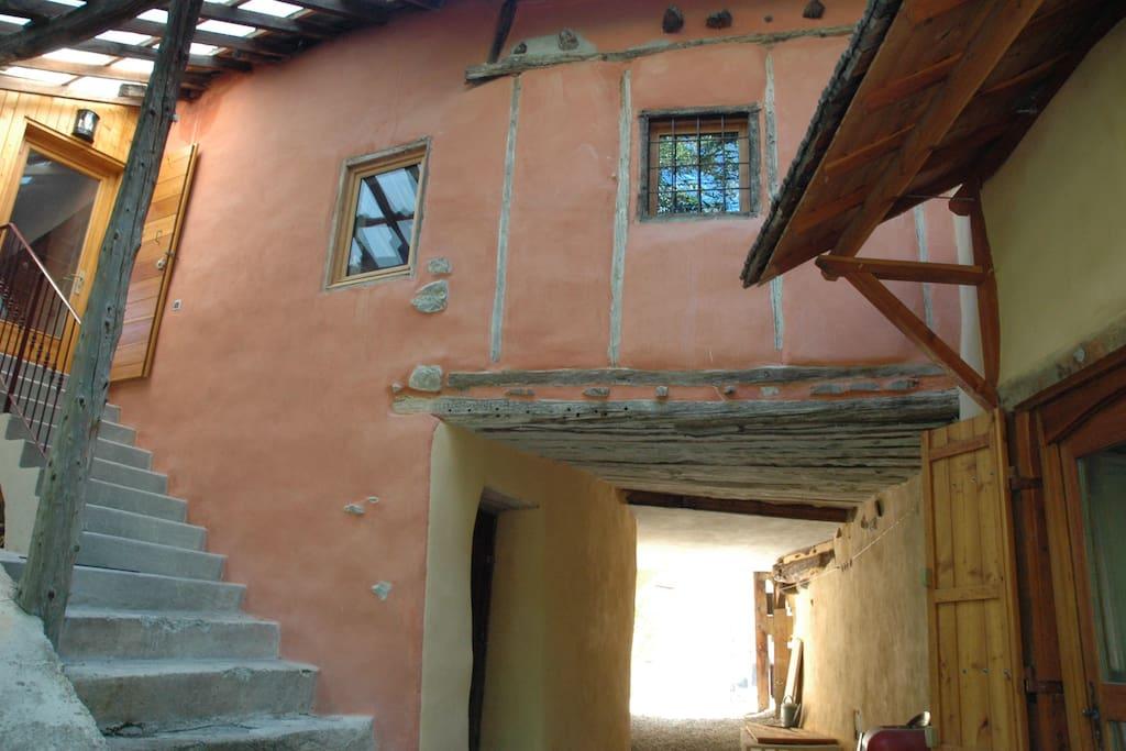 Le colombage de la maison date de 1661