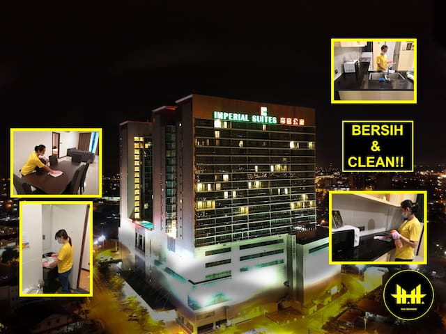 2BR Apartments @ Imperial Suites Kuching (Luco)
