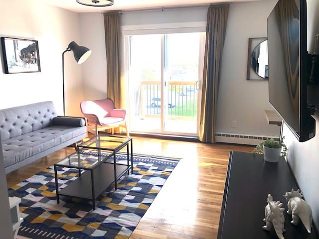 Modern 2 bedroom apartment in renovated building