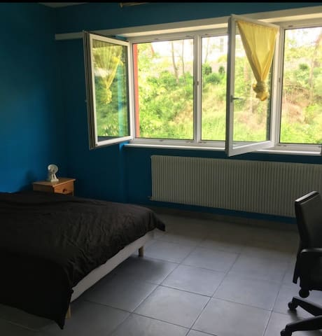 Chambre individuelle meublée dans bel appartement