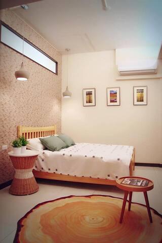【荷米‧輕洋樓】Easyhouse--石燈甜蜜2人房 - West Central District - Apartment