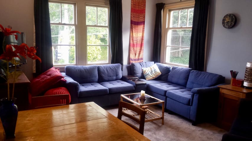 Spacious apartment in great location near stadium! - Wellington - Wohnung