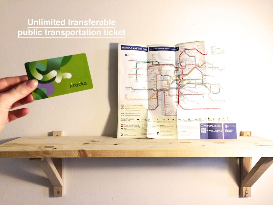 Unlimited Public transportation pass is included.