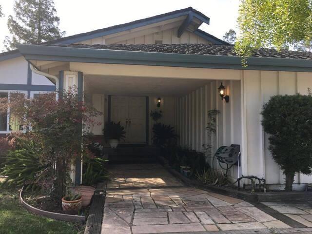 Private Room in a beautiful neighborhood - San Jose