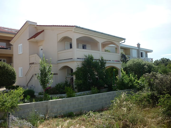 Mandre apartment , 50 m from the sea