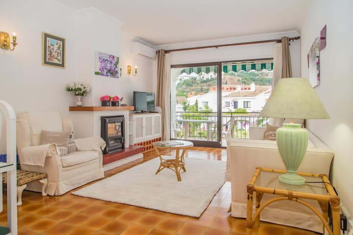 Two bed apartment with views near Marbella!