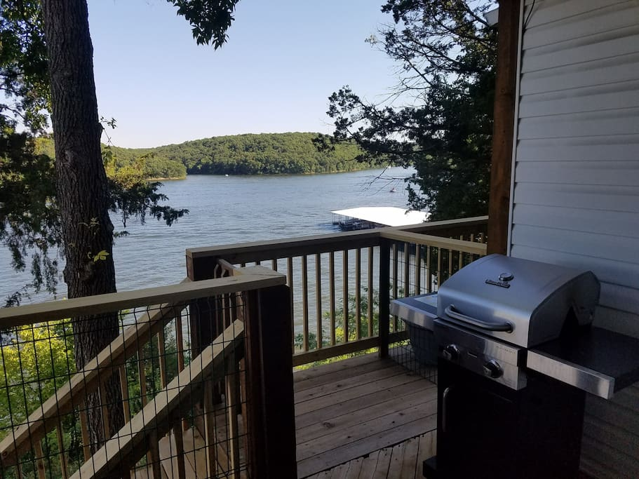 New Gas Grill with a view