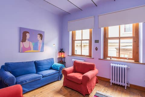 2 Bed room flat with balcony and Galata Tower view