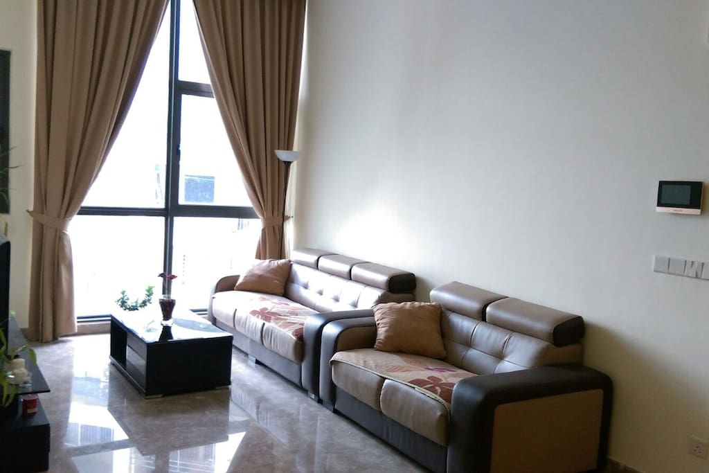 This is the common area (living room)