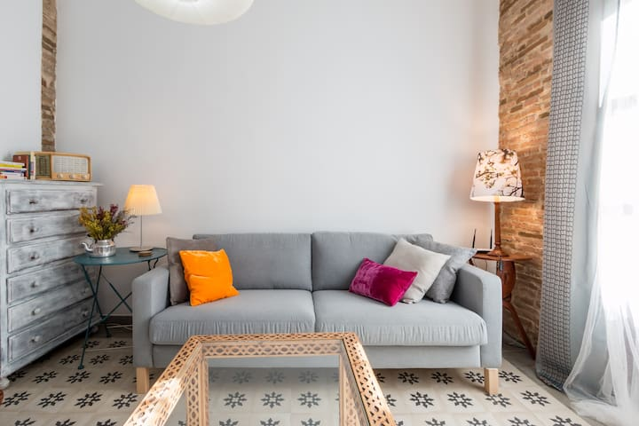 Cosy and charming 2 bed bright apartment centre - Granada - Apartmen