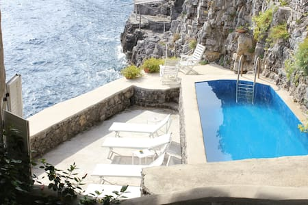 Luxury Villa on Amalfi coast with private seaside - ピアノディソレント