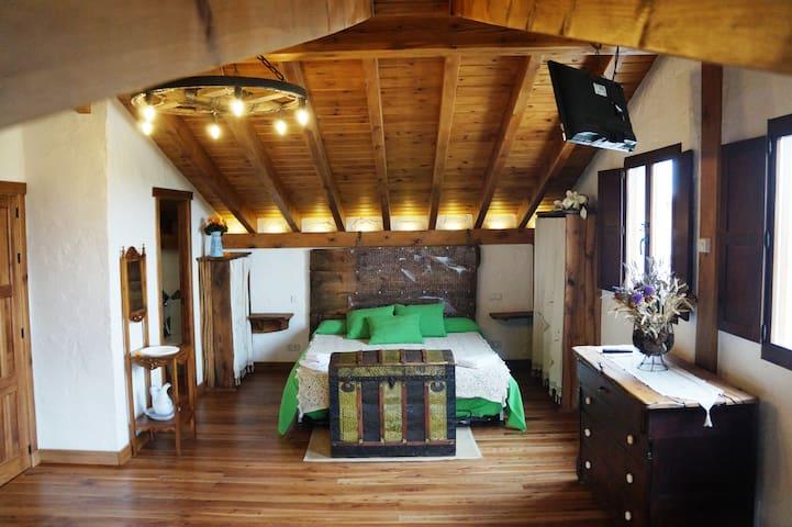 Habitación tipo Suite con Sauna - Olmos de Atapuerca - Huis